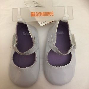 💙2/$15 Infant Crib Shoes White Patent Leather